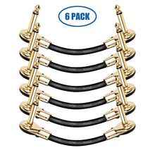 Load image into Gallery viewer, LEKATO Guitar Patch Cables Gold