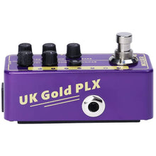 Load image into Gallery viewer, MOOER 019 UK Gold PLX Digital Preamp