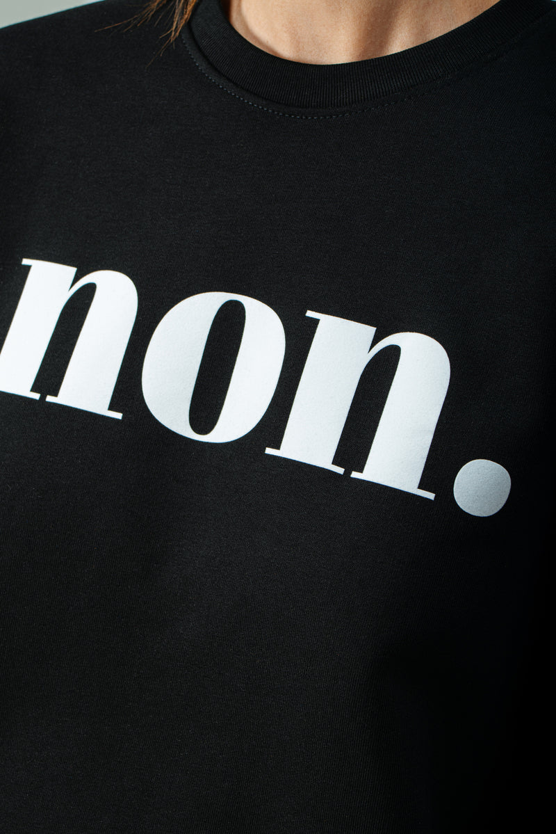 BONJOUR BEN non.  Sweater -  black & white