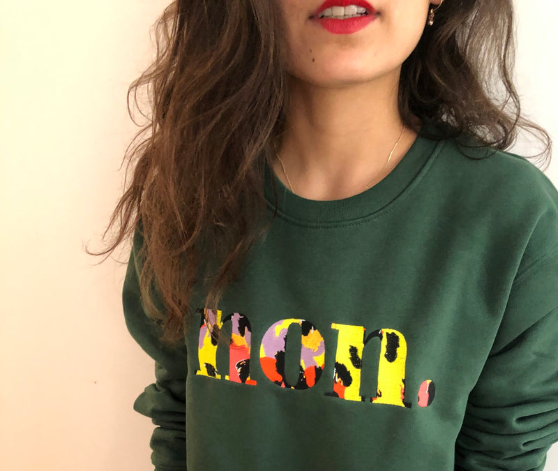 Bonjour Ben non. Sweater - classic green I neon