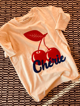 BONJOUR BEN chérie T-shirt - natural | cherry big