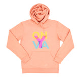BONJOUR BEN ON Y VA HOODIE – WINTER ROSE