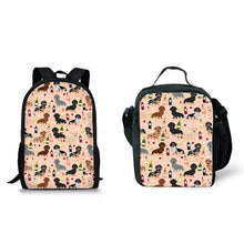 Load image into Gallery viewer, Cute Dachshund Satchel Set