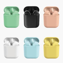 Load image into Gallery viewer, Buy 2 Get 1 Free Today🎧Free Shippping-i12 Latest Macaron Colorful Wireless Bluetooth Headset Inpods