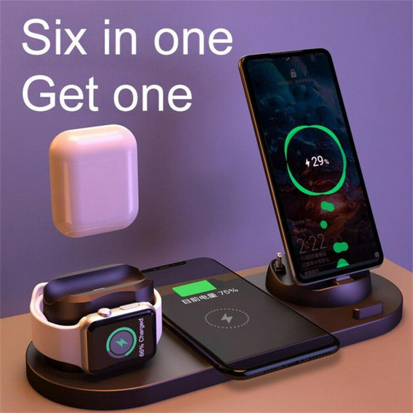 New Professional Six-in-one wireless charger - Fancypobs