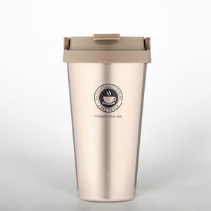 500ml Office Travel Coffee 304 Stainless Steel Classical Mug