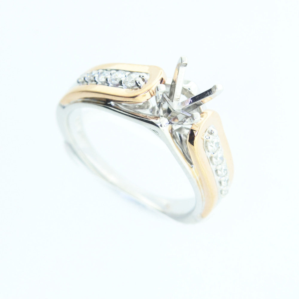 ring gold cluster diamond halo white rings ct real vs rng square engagement