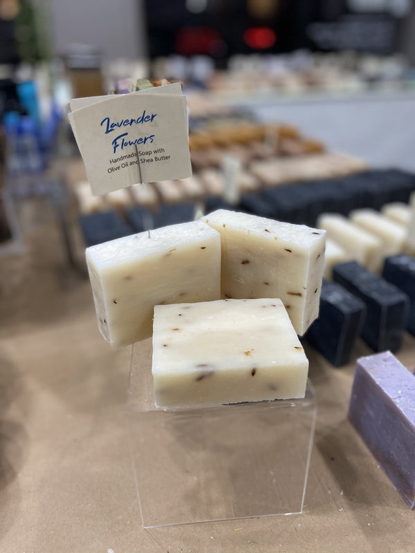 Lavender with Flowers (Vegan, All Natural) Soap Bar