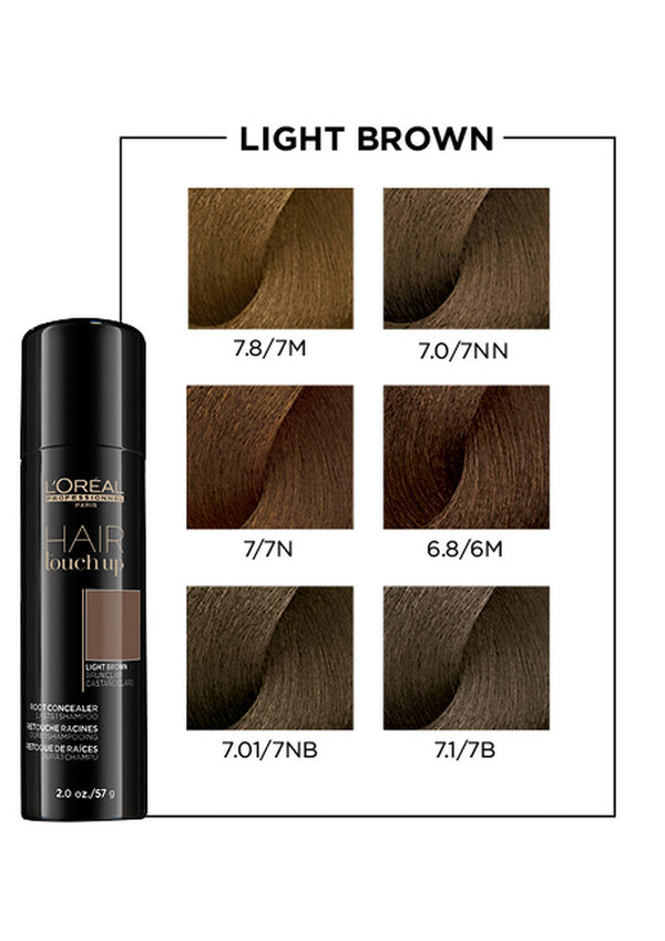 HAIR TOUCH UP ROOT CONCEALER IN LIGHT BROWN