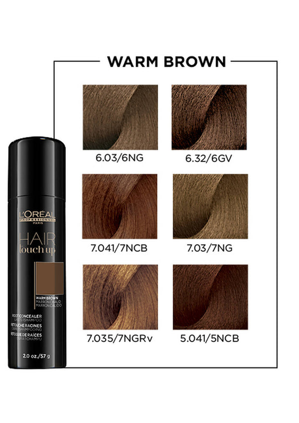 HAIR TOUCH UP ROOT CONCEALER IN WARM BROWN