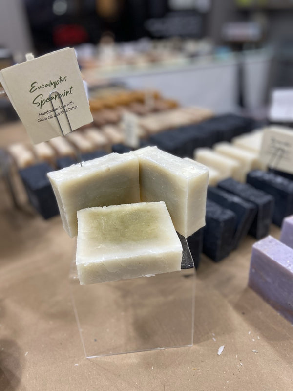 Eucalyptus Spearmint (Vegan, All Natural) Soap Bar