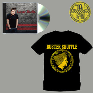 "Buster Shuffle - ""Our Night Out"" 10th Anniversary Pre-order Bundle (CD and Shirt)"