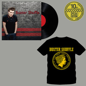 "Buster Shuffle - ""Our Night Out"" 10th Anniversary Pre-order Bundle (Vinyl and Shirt)"