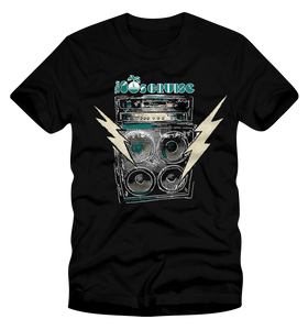 The 80's Cruise Amplifier Shirt - Black