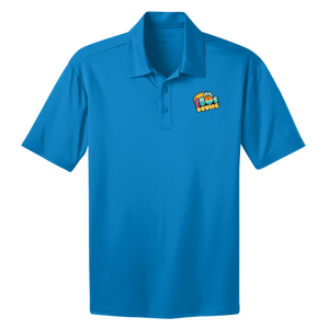 The 80's Cruise Performance Polo - Blue