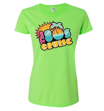 Load image into Gallery viewer, The 80's Cruise Logo Shirt - Neon Colors (ladies)