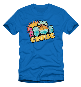 The 80's Cruise Logo Shirt - Neon Colors