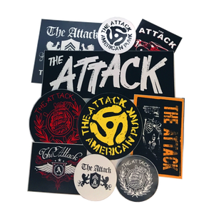 The Attack Sticker Pack (5pk)