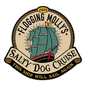 Flogging Molly Salty Dog Cruise 2020 Enamel Pin