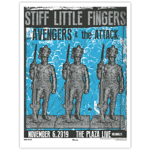 Stiff Little Fingers Poster
