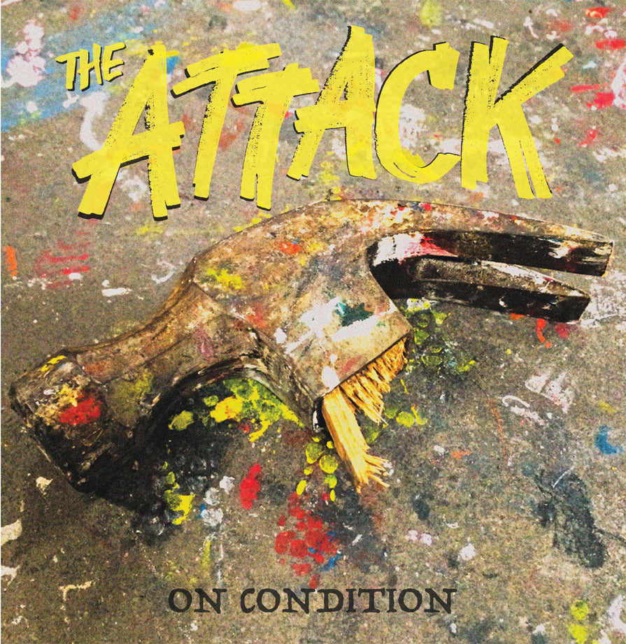 The Attack - On Condition LP Vinyl