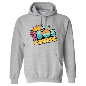 The 80's Cruise Pullover Hoodie (Sport Grey)