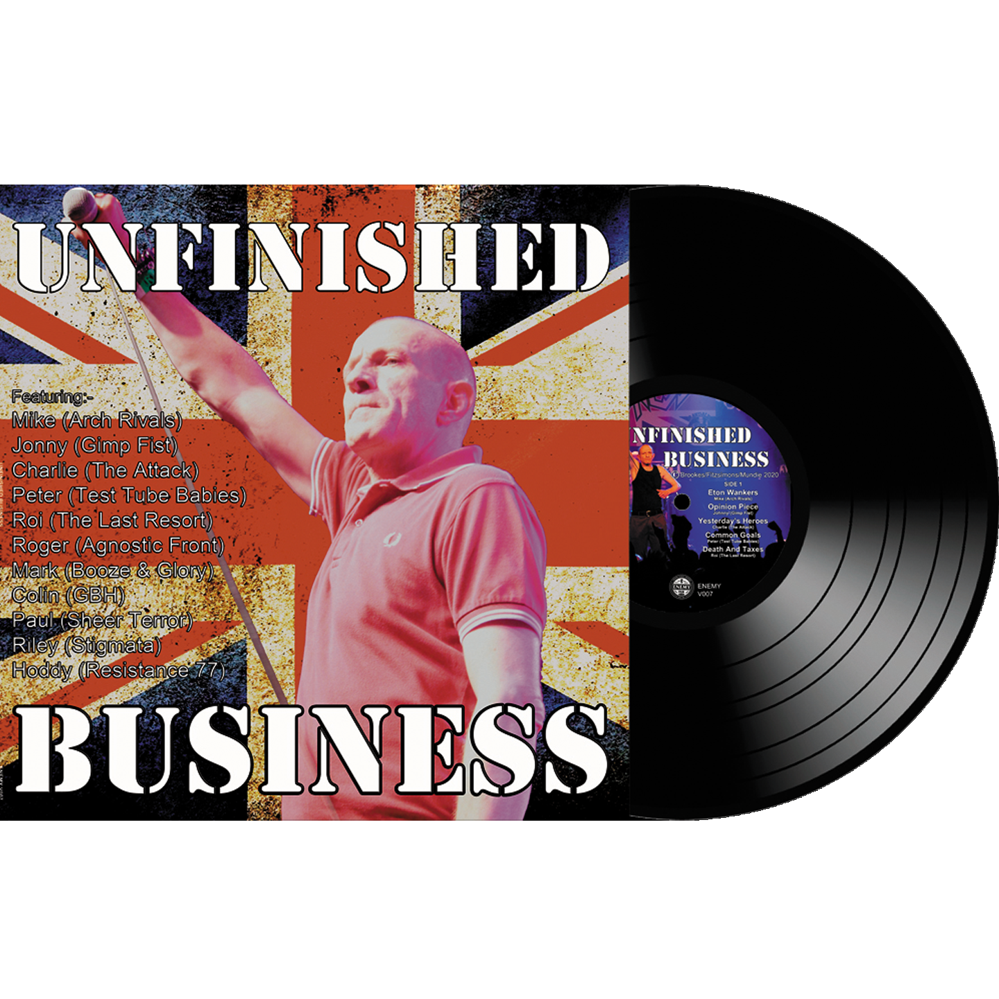 Unfinished Business Vinyl (12