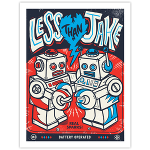 Less Than Jake - Robots Poster