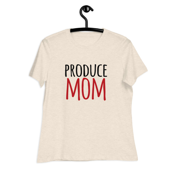 Produce Mom Women's Relaxed T-Shirt