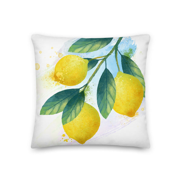 Citrus Got Real Premium Pillow