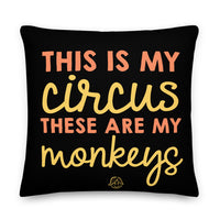 My Monkeys Premium Pillow