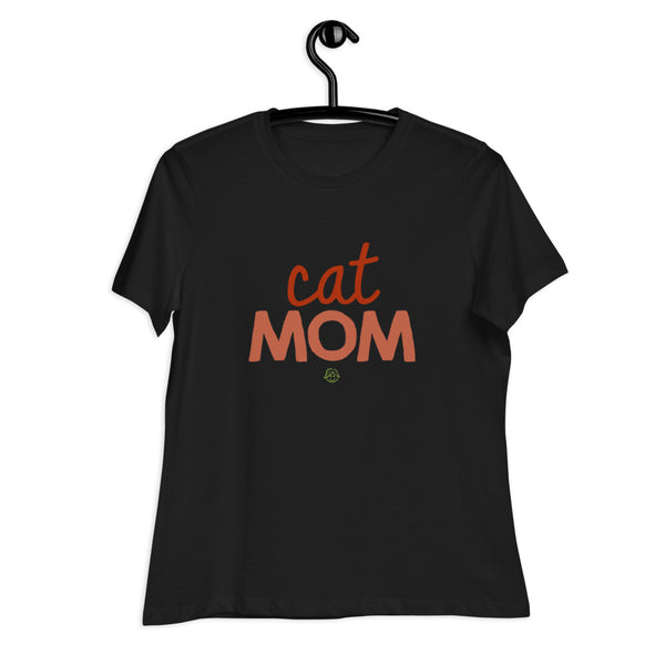 Cat Mom Women's Relaxed T-Shirt