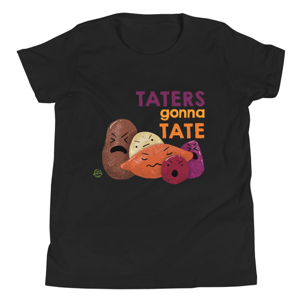 Taters Gonna Tate Youth Short Sleeve T-Shirt