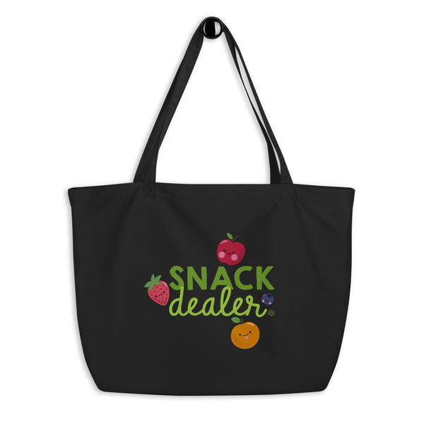 Large Organic Snack Dealer Tote Bag