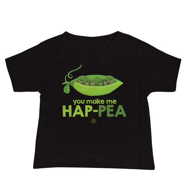 Hap-pea Toddler Jersey Short Sleeve Tee