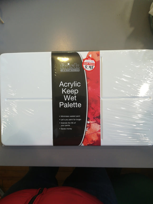 Acrylic keep wet palette