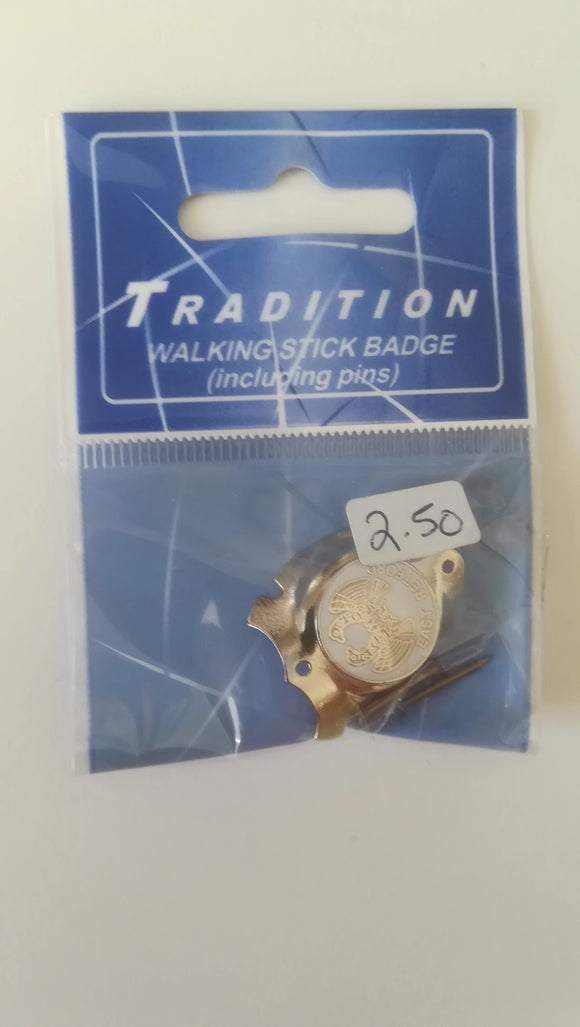 walking stick badge