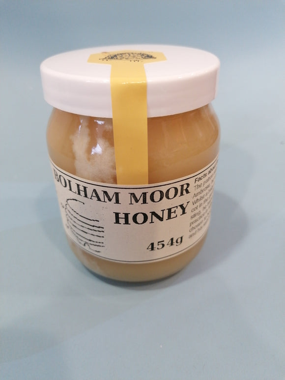 1lb Jar Bolham Moor Honey