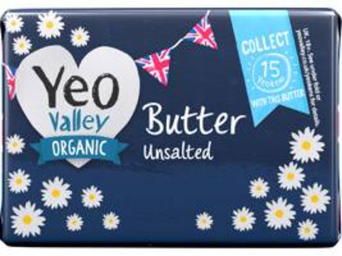 Yeovalley Organic Unsalted Butter