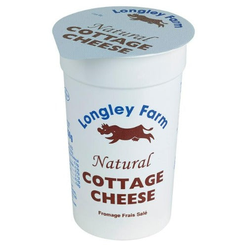 Longely Farm Natural Cottage Cheese 250G