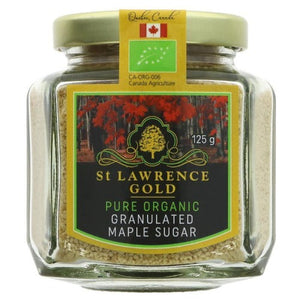 St Lawrence Gold Pure Organic Maple Sugar 125g