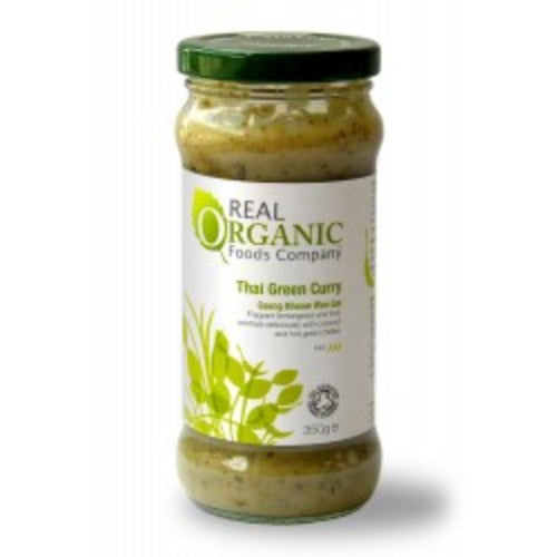 Real Organic Foods Green Thai Curry 335g