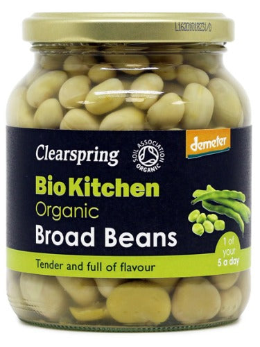 Demeter Broad Beans, Organic 350g (Clearspring)