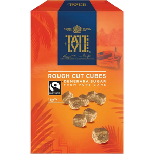 Tate & Lyle Rough Cut Cubes 1KG