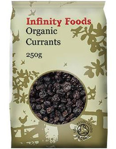 Infinity Organic Currants 250g