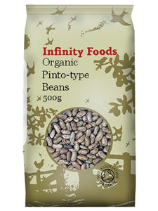 Infinity Organic Pinto Beans 500G