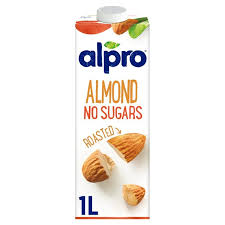 Alpro Almond unsweetened Milk 1ltr