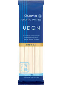 Clearspring Organic Japanese Udon Wholewheat Noodle