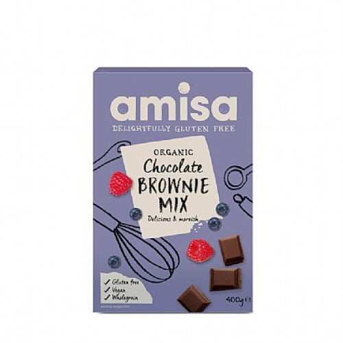 Amisa Chocolate Brownie Mix (400g)