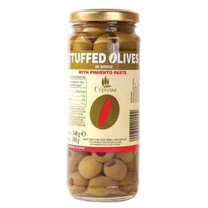 Cypressa | Stuffed Pimento Olives 340g